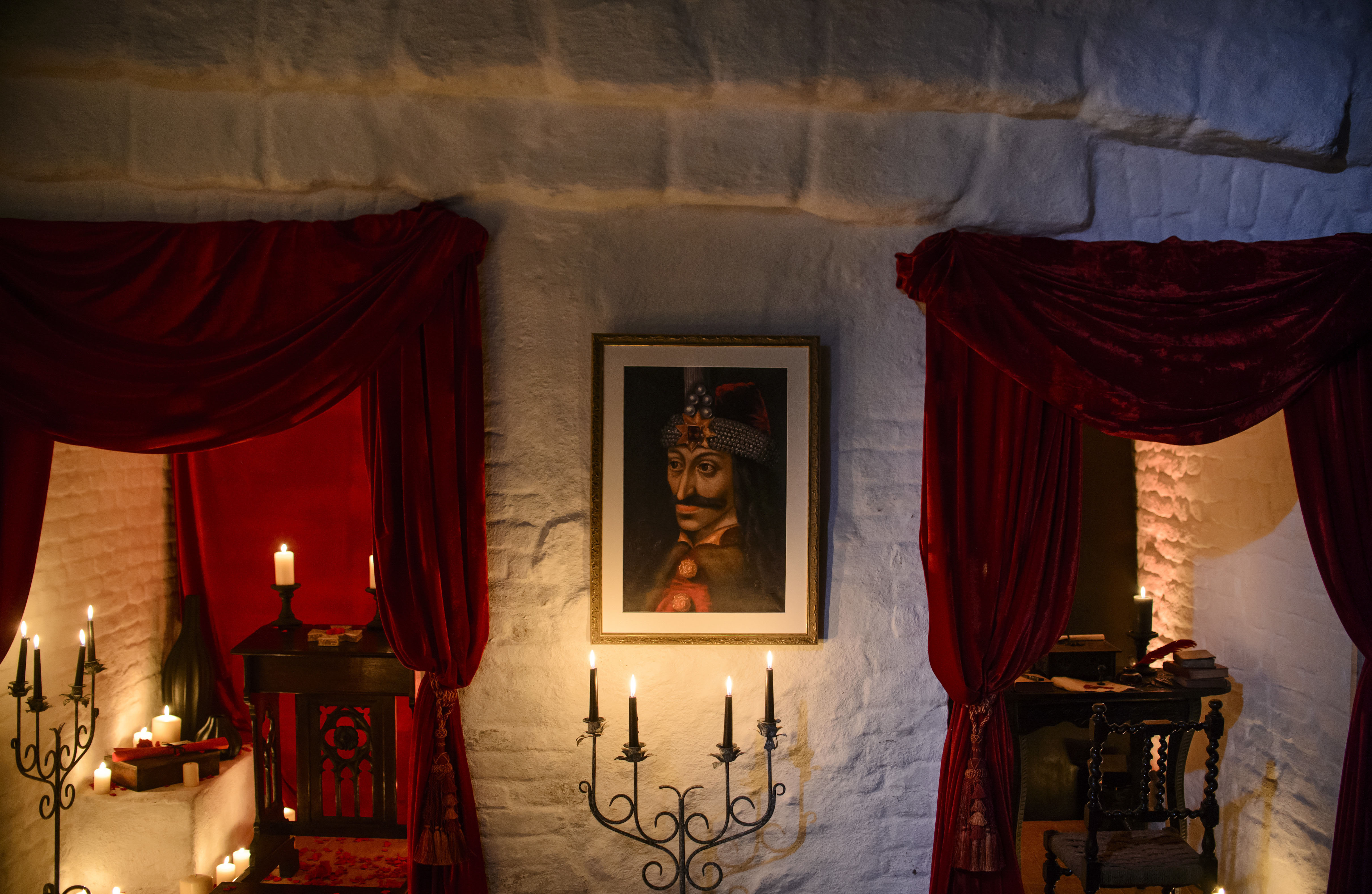 Halloween treat a night at Draculas castle in Transylvania  The Japan Times