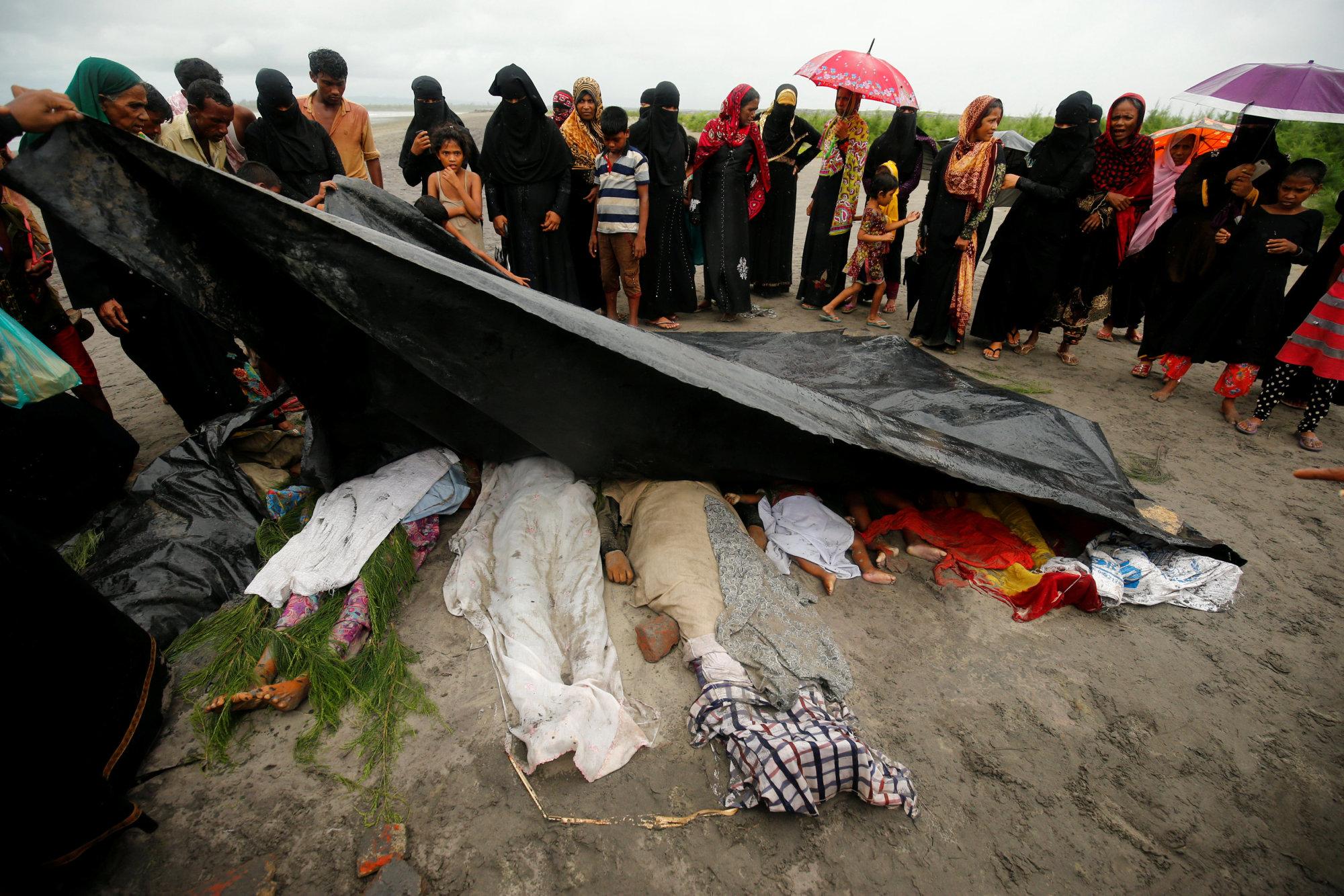 At Least 18 Rohingya Women Kids Die In Desperate Boat