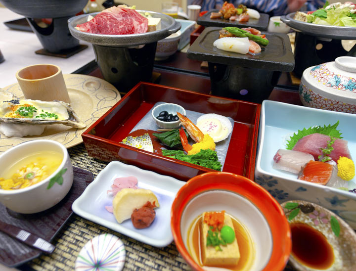 Japanese food and drinks