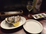 fresh local oysters