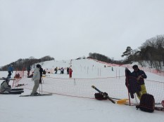 Ski race in early March