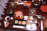 Kaiseki dinner in-room