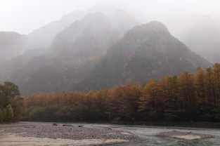 D1 - Kamikochi in rainstorm