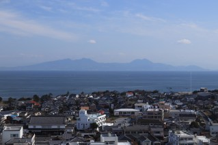 views from Shimabara castle