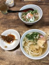 Sanuki-udon for late lunch