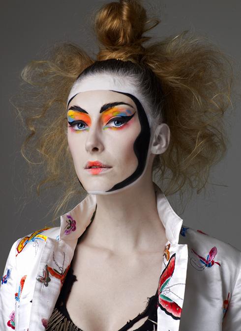 fashion face pack kansai yamamoto japanese make-up kabuki kumadori