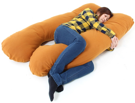japanese public napping pillows and