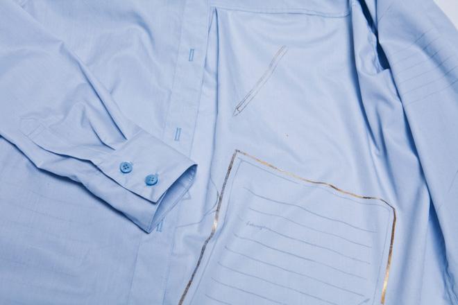 fukutegami clothes white shirt send mail post item letter japanese keio masako yokoi