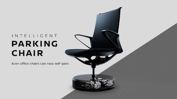 nissan intelligent parking chair self office furniture