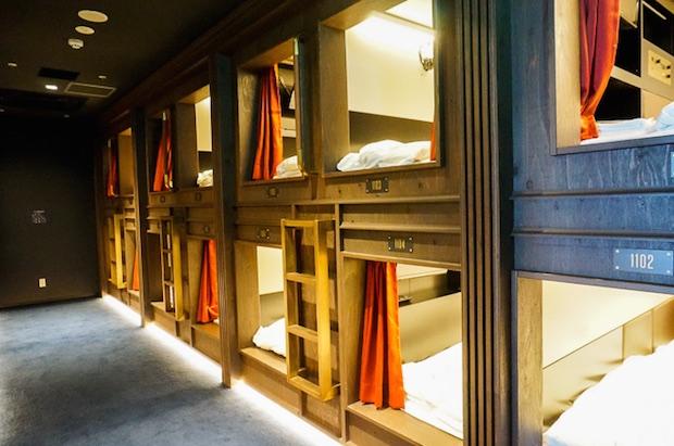 luxury designer capsule hotel tokyo ginza japan the prime pod