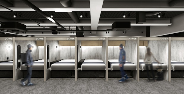 The Millennials Stylish capsule hotel for millennials