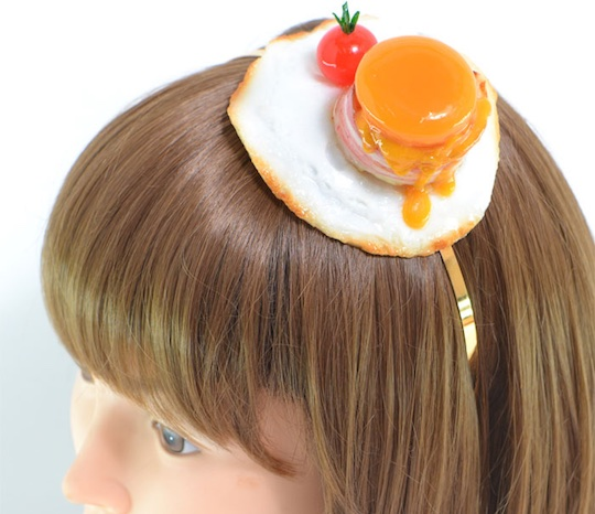 Fake Food Sample Egg and Bacon Headband