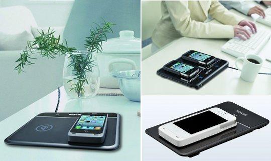 Aire iPhone 4 Pad tensión de carga