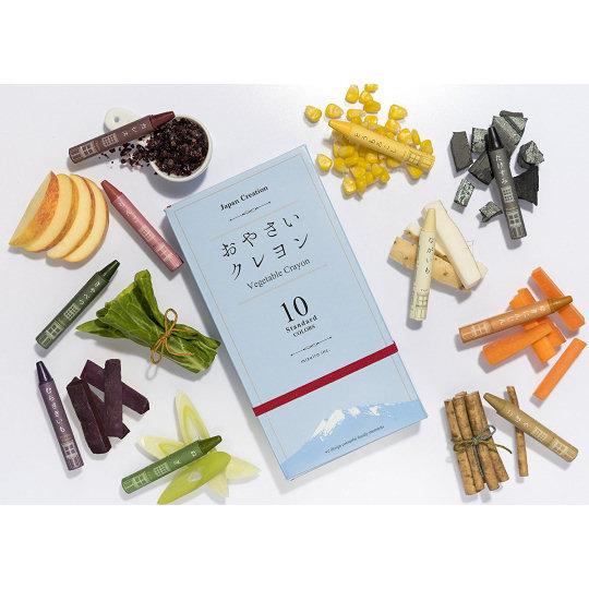 Mizuiro Vegetable Crayons