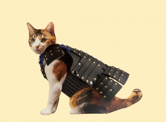 Japan Trend Shop Samurai Pet Armor For Cats And Dogs