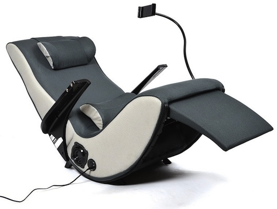 Japan Trend Shop  Zero Gravity Chair with iPhone iPad Holder