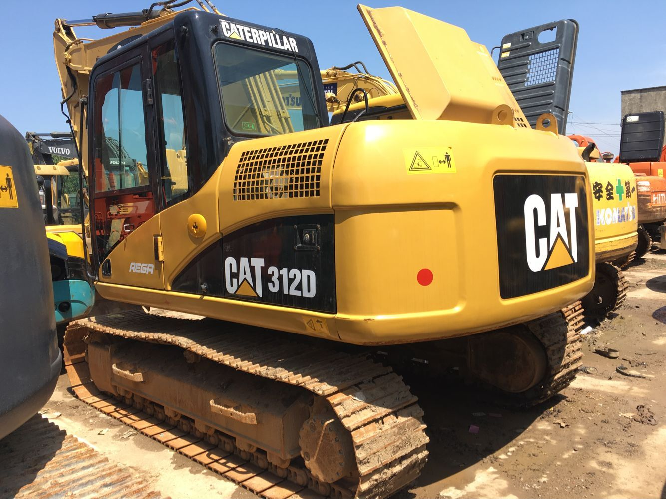 hight resolution of used cat 312d excavator