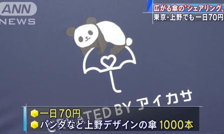 TOKYO: Compartilhando Guarda-chuvas