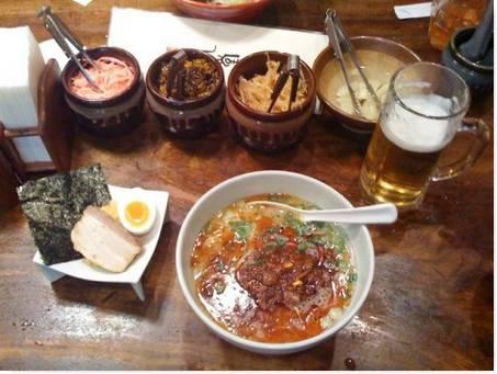 Comida Popular no Japão Ramen