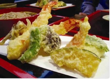 Comida Popular no Japão Tempura