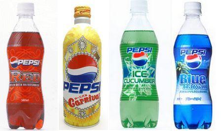 Pepsi-sabores japão