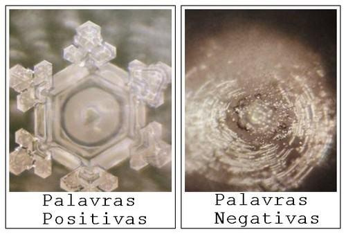 Resultado de imagem para experimento de emoto agua