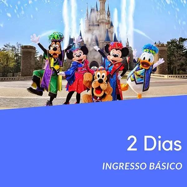 Ingresso Disney 2 Dias