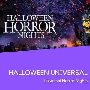 Ingresso Halloween Universal Horror Nights