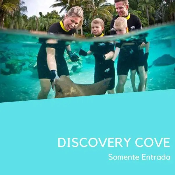 Discovery cove Ingresso