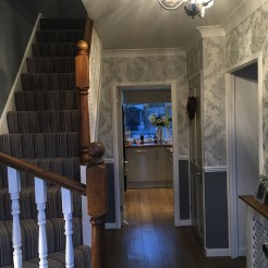 Hallway Wallpapering Essex (Decorator Near Me)