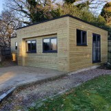 Bespoke Mancave Garden Shed Summer House Wanstead (Carpenter Near Me)