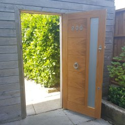 Oak Glazed Door Wanstead (Carpenter Essex)