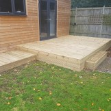 Bespoke Garden Decking (Carpenter London)