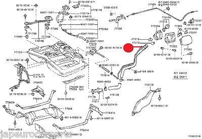 For GENUINE 94-00 TOYOTA RAV4 RAV 4 2.0i PETROL FUEL