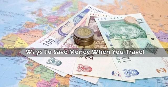 save money when travel
