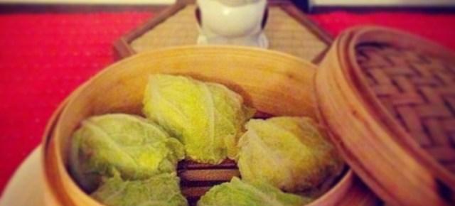 Bouchées à la vapeur aux choux chinois 白菜の肉団子蒸し