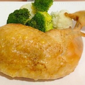 Cuisses de poulet fumées express 鳥モモ肉のスモーク
