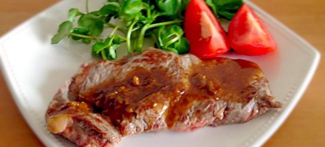 Steak sauce wasabi ステーキわさび醤油ソース