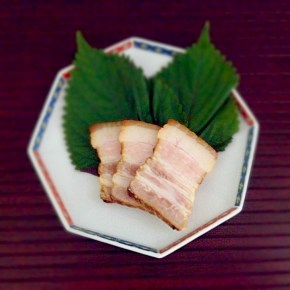 Bacon fumé maison 自家製ベーコン