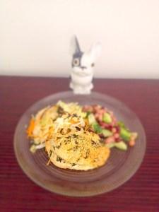 Blancs de poulet grillé au shiso et fromage