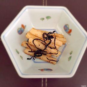 Igname au beurre au kombu 山芋スティックバター昆布味
