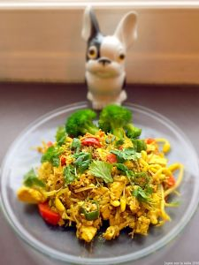 itamemono de Tofu aux légumes