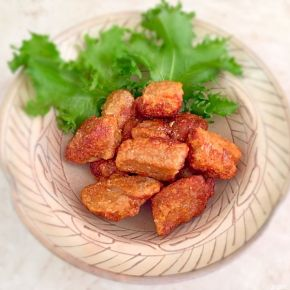 Karaage végétarien  ベジタリアンミ一トのから揚げ
