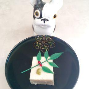 tofu de sésame au kuzu
