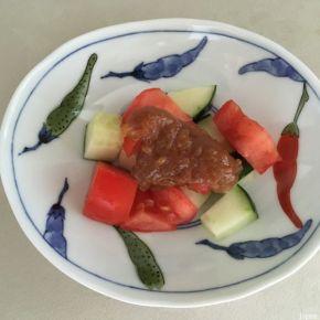 sauce sucrée à la pâte de sésame 胡麻甘ドレッシング