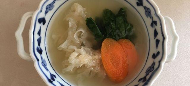 Sanshoku soup Soupe Tricolore 三色スープ