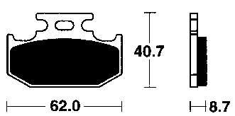 YAMAHA TT600(4LW)83-97 : Roukama Japparts, De complete