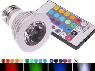 16 Color RGB remote Control LED Light