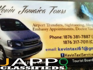 Kevin Jamaica Tours