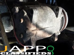 97 hiace engine parts a/c compressor 10000. diesel pump15000. Alternator8000 starter 10000